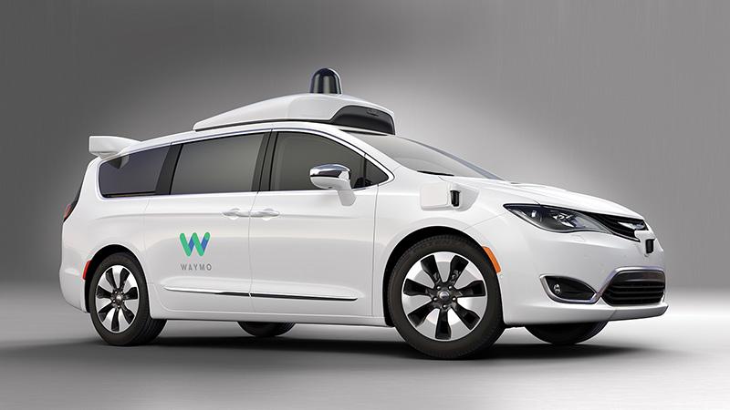 Autonomous Vehicles - Chrysler Pacifica Hybrid