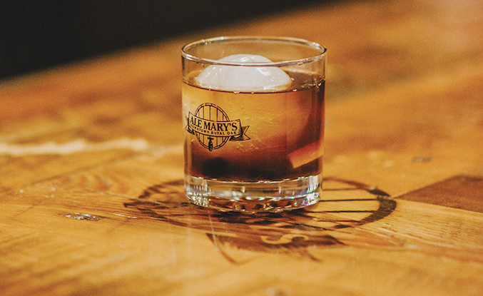 How to Make Ale Mary's Walnut Old Fashioned - Hour Detroit Magazine