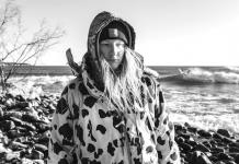 amy sacka - ice fishing