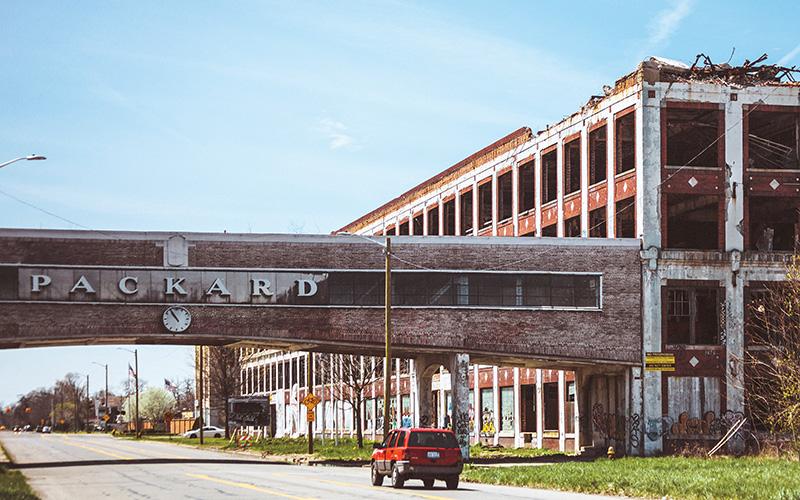 detroit developments - packard plant