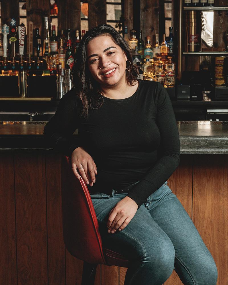 female bartenders - Cory Clavet