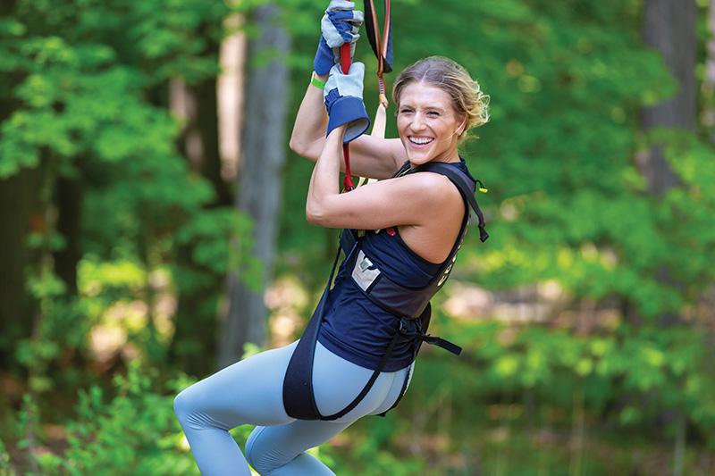 Treerunner Adventure Park - zip lining