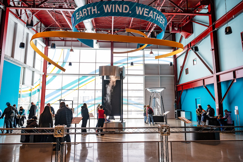 Michigan Science Center - Earth. Wind. Weather.