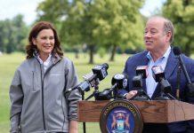 covid restrictions - gov whitmer and mayor duggan