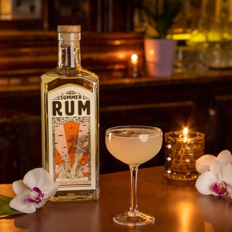 Traditional daiquiri - summer rum