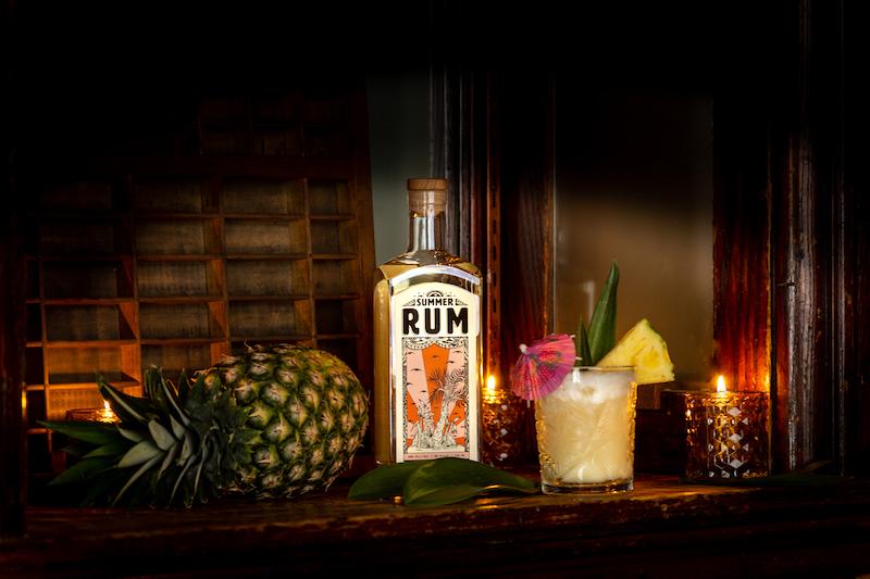Pina Colada - summer rum