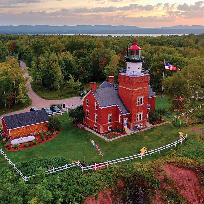 big bay lighthouse - Michigan getaways