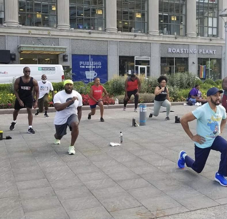 black health movement - Second Saturday Fitness Fest