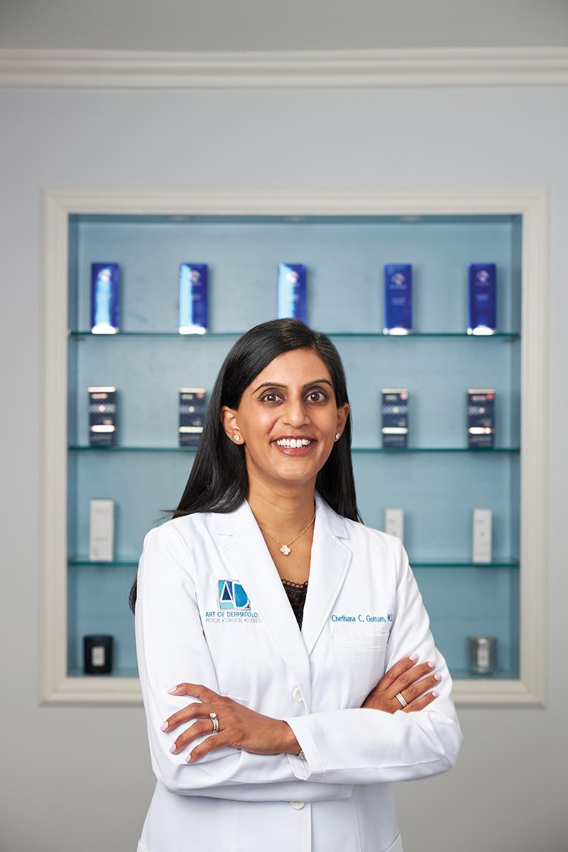 Chethana C. Gottam - art of dermatology - skin care
