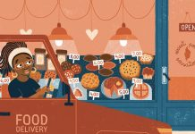 delivery driver - sweet potato sensations