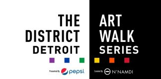 district detroit art walk series