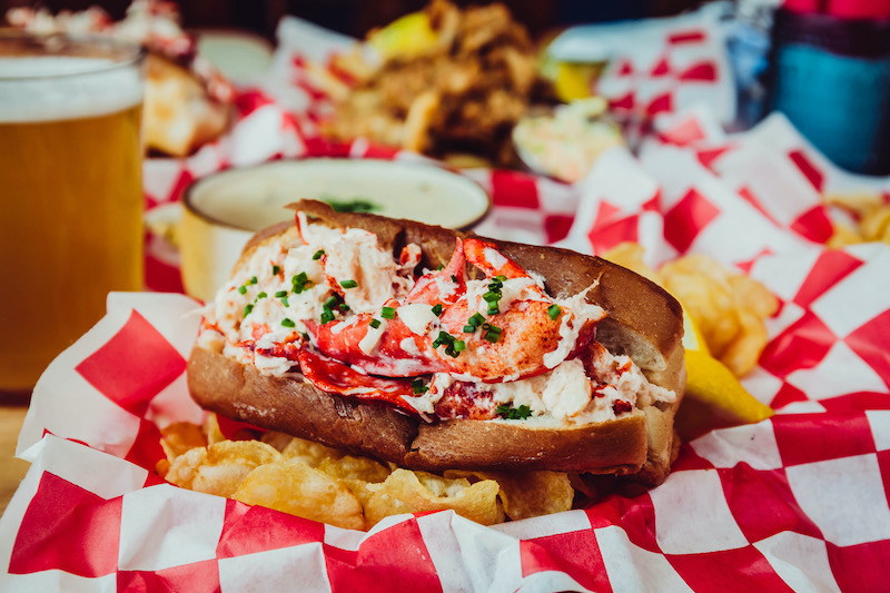 lobster rolls mero detroit Photo courtesy of Hazel, Ravines and Downtown.