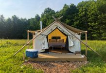 off map glamping