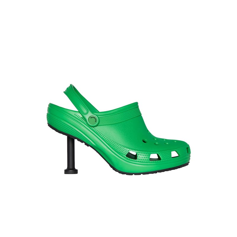 balenciaga crocs - back-to-work style
