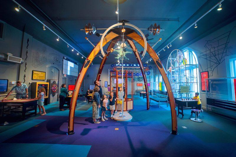 ann arbor hands-on museum - steam park
