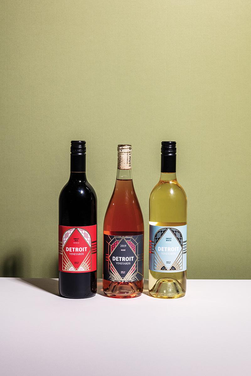 Detroit vineyards