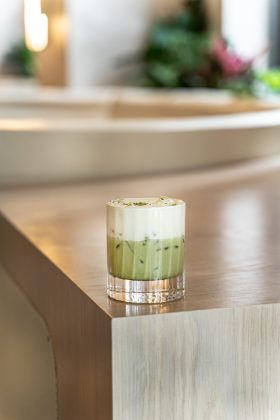 matcha cocktail