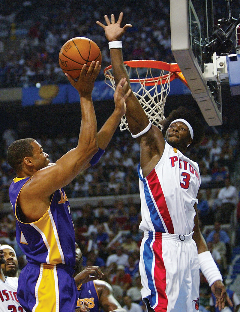 ben wallace - detroit pistons - hall of fame