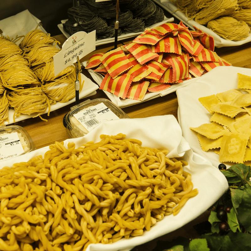 cantoro italian market - homemade pasta