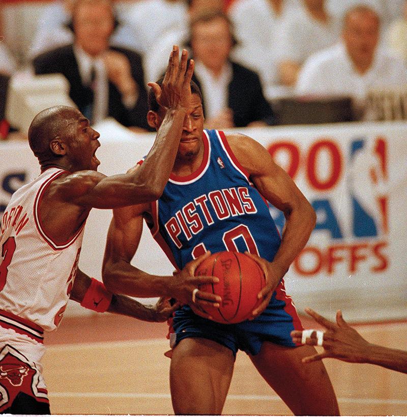 Dennis Rodman - detroit pistons - hall of fame