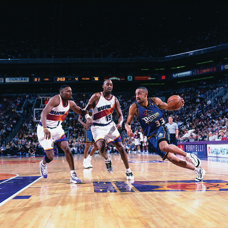 grant hill - detroit pistons - hall of fame