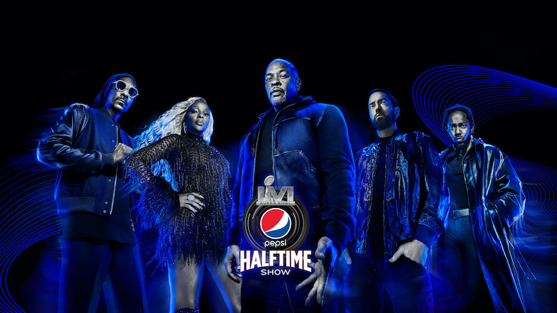 Super Bowl Halftime Show - 2022