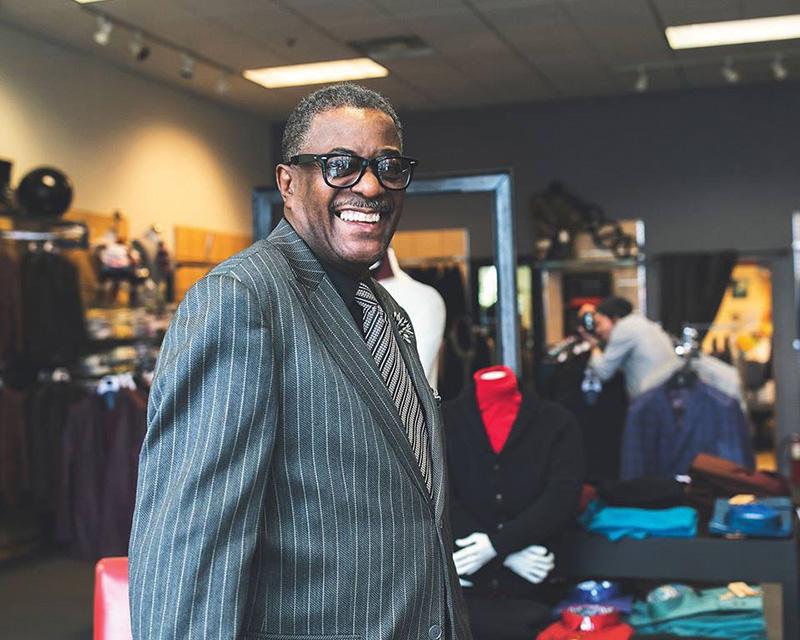 Tony Stovall - Hot Sam's - detroit fashion