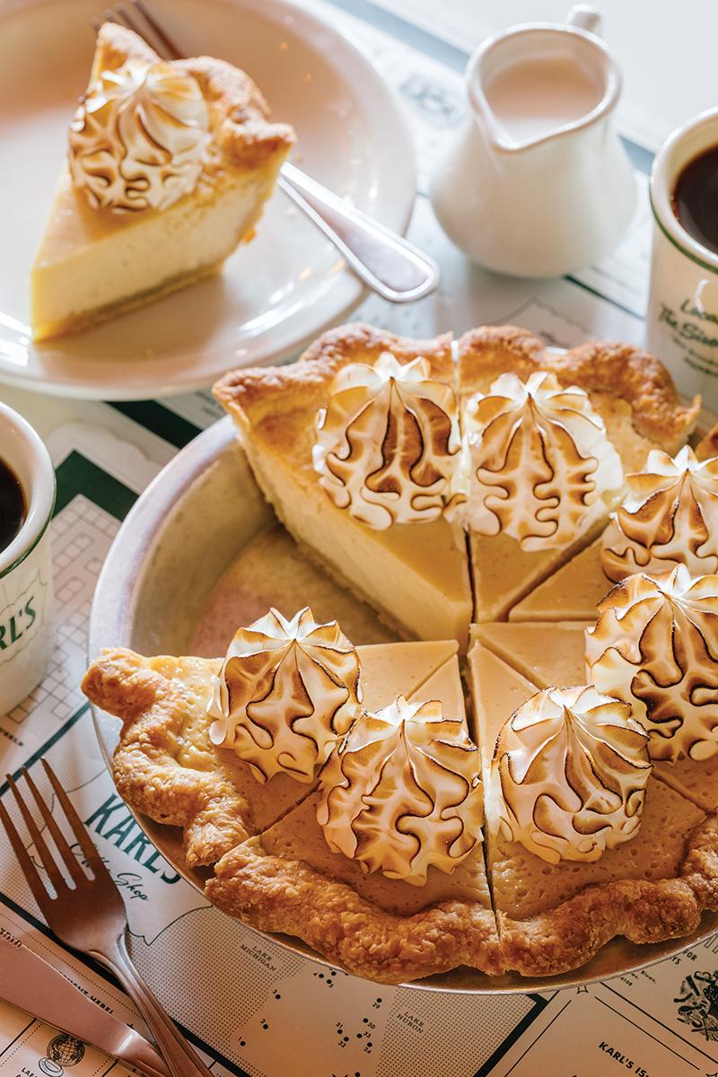 Karl's lemon meringue pie