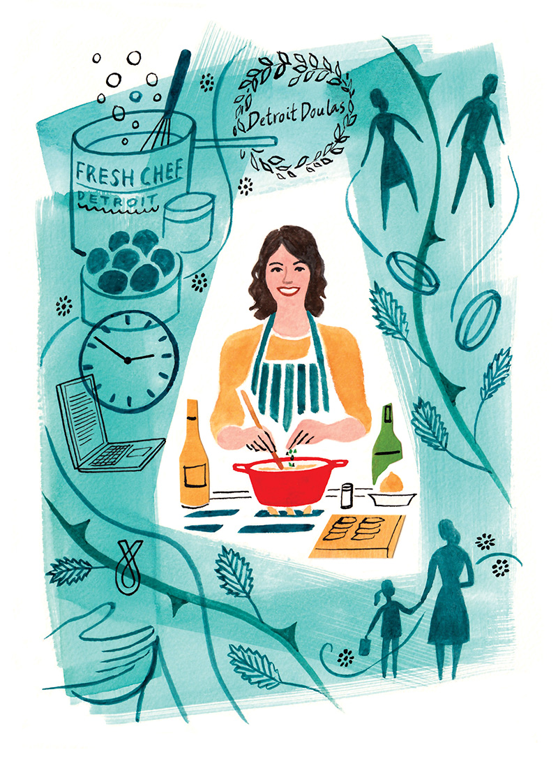 Through Cancer, Career Changes, and Parenthood Challenges, Still, I Cooked